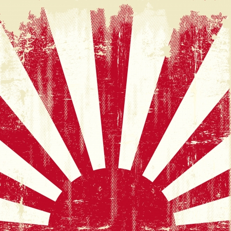 imperialism: An old japan grunge flag for you