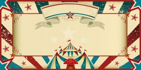 Eine Einladungskarte f?r Ihre Circus Company Standard-Bild - 21746788