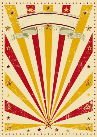 A vintage poster with a texture  Vector