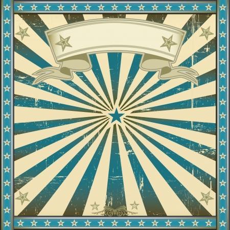 Eine quadratische Vintage Poster für Ihre Werbung