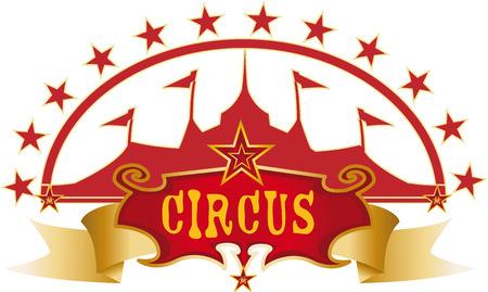 big top tent: circus