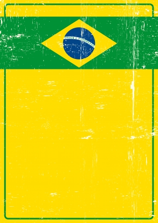 A poster on brazilian theme for you  Vector