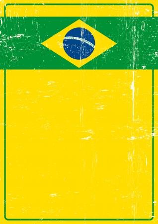 Une affiche sur le thème brésilien pour vous
