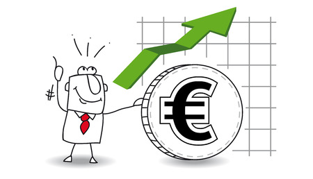 fluctuation: fluctuation of the euro up