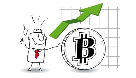 fluctuation: fluctuation of the Bitcoin up
