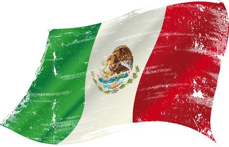 mexican flag: Bandiera messicana