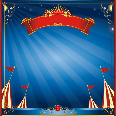 cabaret stage: Una invitaci�n curcus plaza para ti Vectores