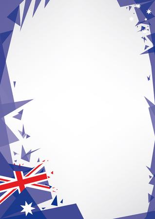 viso: fondo origami de Australia un fondo del estilo de Origami por un cartel muy bonito