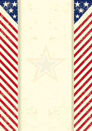 An american vintage background with a texture Vector