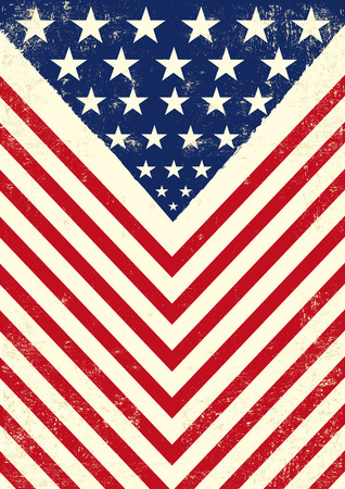 army flag: An american vintage flag with a texture