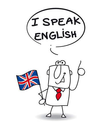 english: This businessman speak english