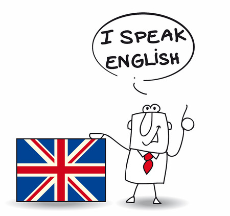 speak english: This man speak fluently english