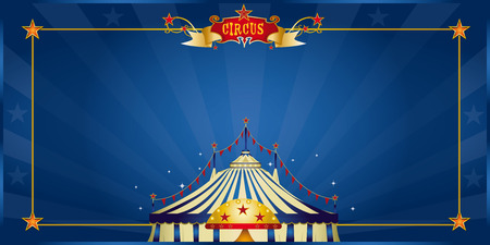 revue: A circus invitation for your show Illustration