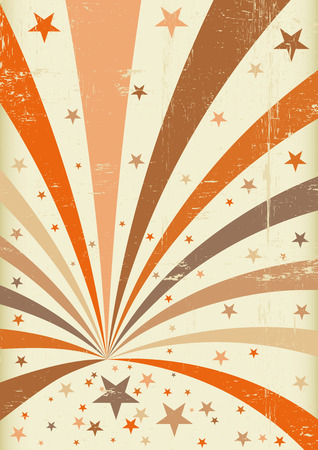 soiree: A retro circus background for a poster
