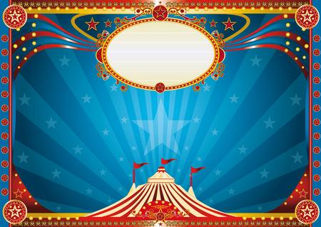 Een horizontale circus achtergrond voor je show