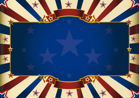 a patriatic background of USA for your advertising  Perfect size for a screen  Vector