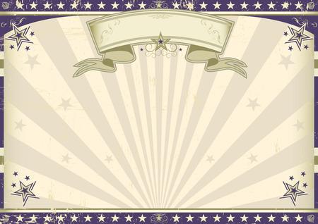 a circus vintage poster Vector