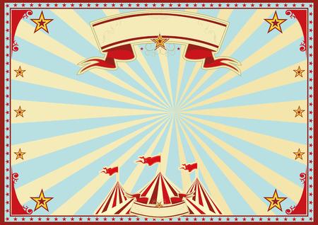 cabaret stage: Fondo de circo Horizontal para un cartel