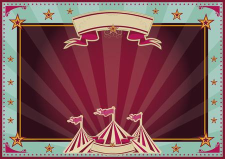 cabaret stage: Fondo de circo horizontal para un cartel Ideal para su publicidad
