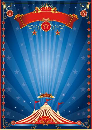 Een circus poster voor uw circus bedrijf