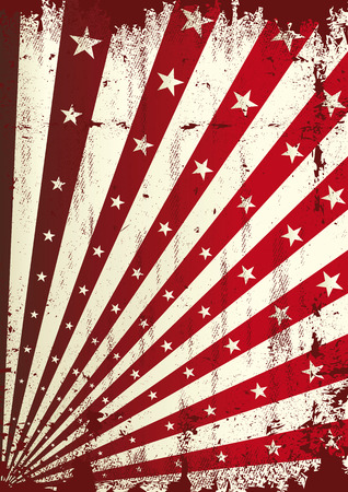 A vintage dirty and torn background for a poster