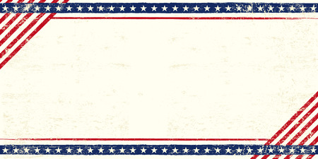 empty space for text: An american postcard for you with a large empty space for your text Illustration