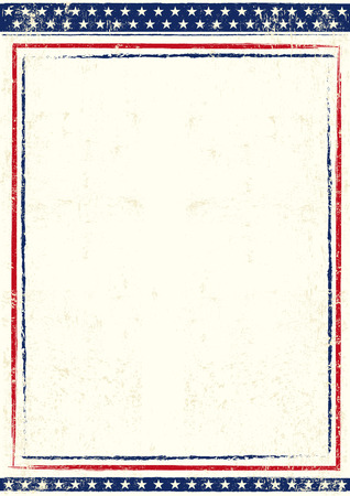An american background for you with a large empty space for your text Vector