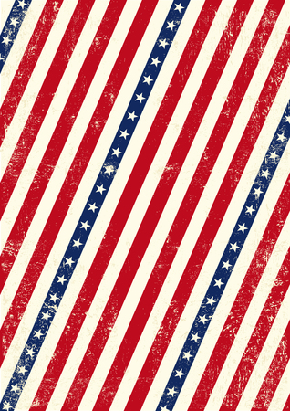 An american background for your publicity Vector