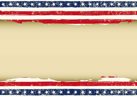 An horizontal  american background for your event  ideal for a screen  Vector