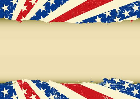 american poster: Un cartel de American Vintage