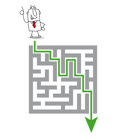 bureaucracy:  a solution  to get through the maze