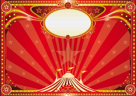 circus tent: An horizontal circus background for your show.