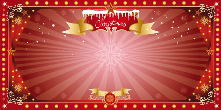 A greeting card for christmas or the new year  Vector