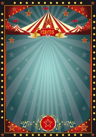 Een circus donkere achtergrond voor u