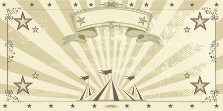 cabaret stage: Una invitaci�n Circo kraft para su entretenimiento.