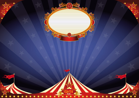 A circus background Vector