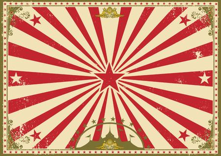 circus poster: a vintage circus poster