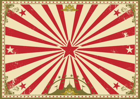 a vintage circus poster