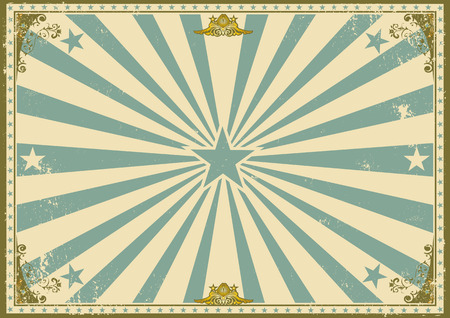 vintage: um cartaz do vintage com raios de sol Ilustração