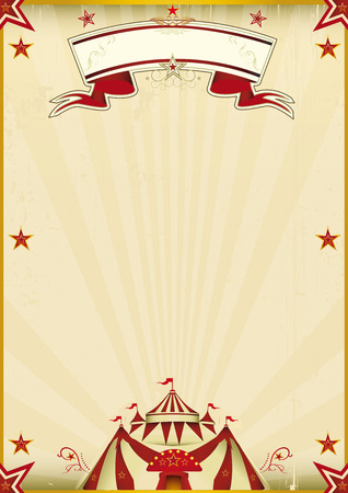 A kraft circus poster for you new show. Enjoy!