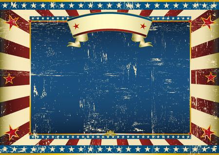 証明書の背景をアメリカのビンテージ水平