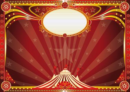 fondo de circo: Un fondo de circo horizontal para su espectáculo.