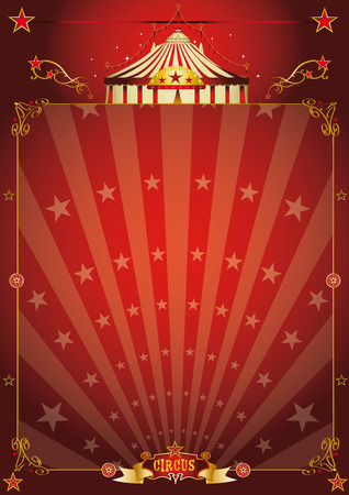 entertainment background: A vintage circus background with sunbeams for your entertainment