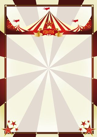 circus background: A vintage circus background with sunbeams for your entertainment