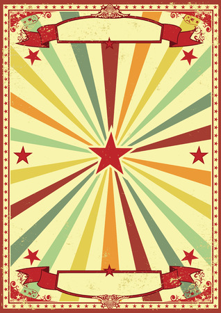 A vintage rainbow color background for your entertainment
