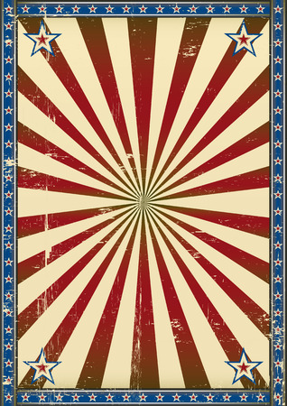 retro background: A patriotic background with a texture for your publicity