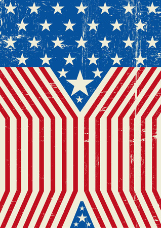 star spangled: A grunge american background for you