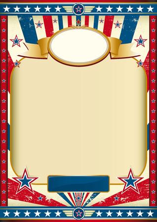 american poster: Cartel Americana para el d�a de la independencia