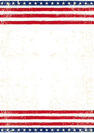 An american background for your patriotic poster Vettoriali