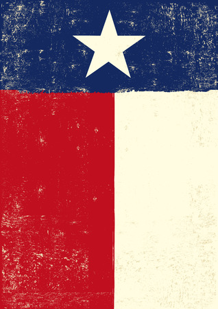 houston flag: A texan grunge poster for you.